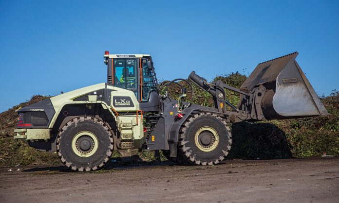 Volvo hybrid wheel loader