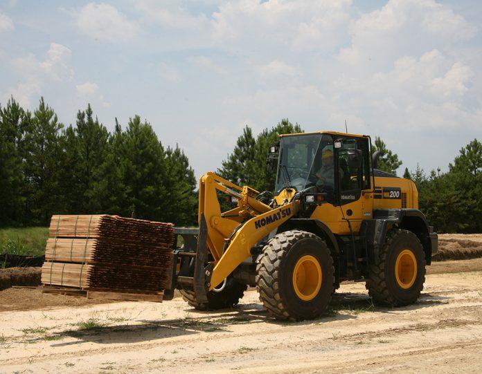 Komatsu WA200-8 wheel loader