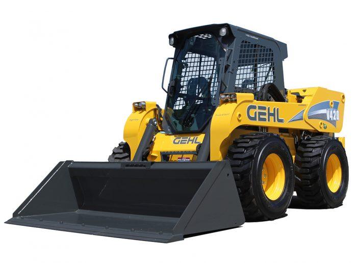 Gehl mustang track loader