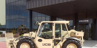 JCB deal with US army