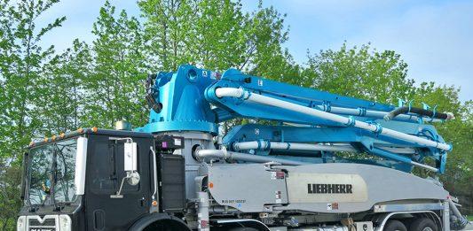 Liebherr concrete pump