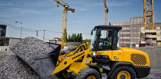 Yanmar adds V8, V10 and V12 to wheel loader lineup