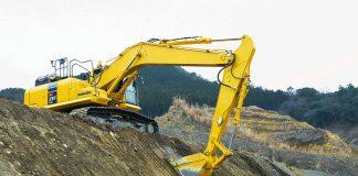 Komatsu excavator intelligent Machine Control