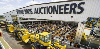 Ritchie Bros Edmonton auction