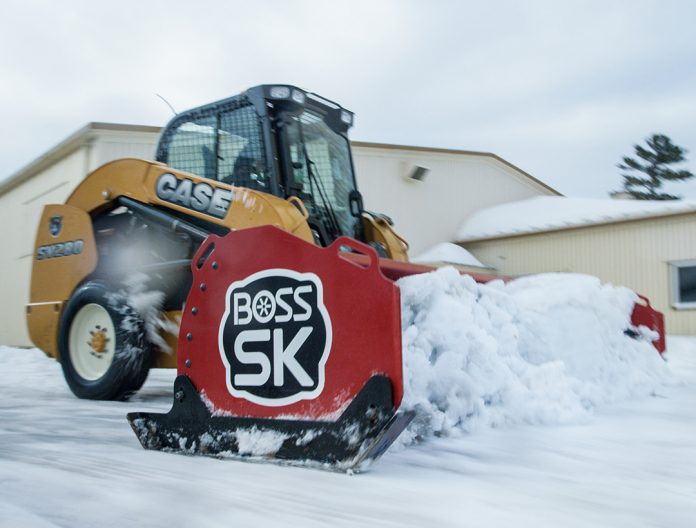 Boss snow removal