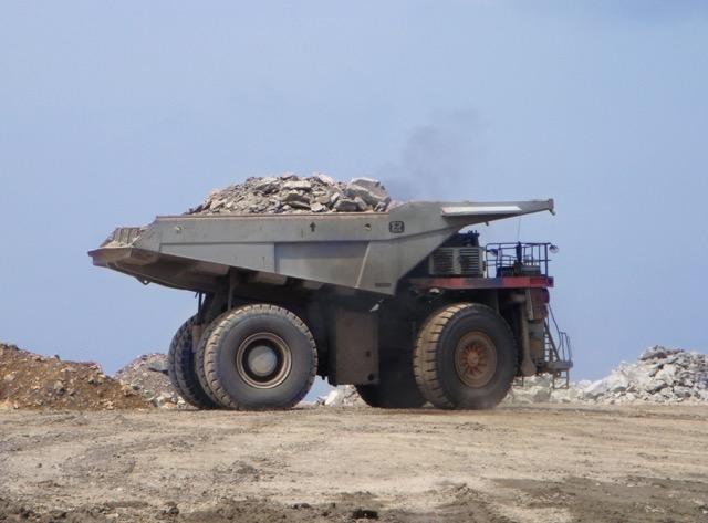 Overburden truck Body
