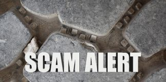 heavy equipment scam