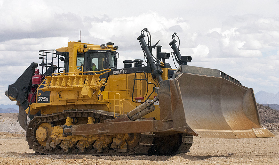 Komatsu's new dozer features 20 per cent more power - Equipment Journal