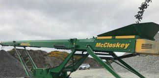 McCloskey compact crusher