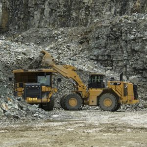 Cat 988K XE electric drive