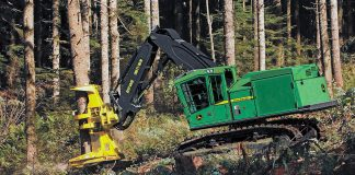 john deere feller bunchers forestry
