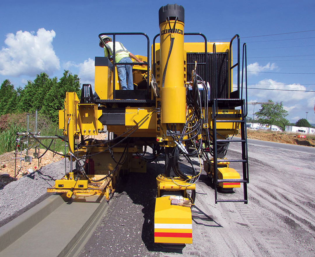 Gomaco To Debut New Tech At World Of Concrete Equipment