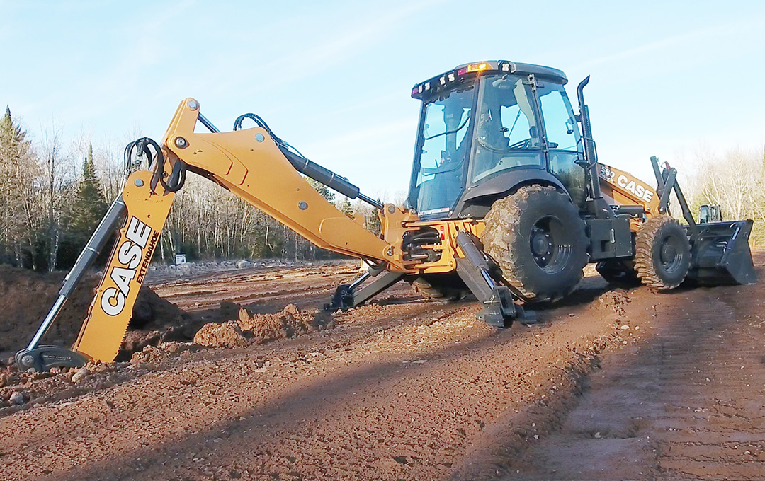 Case Adds Pilot Control To N Series Backhoe Loaders Equipment Journal