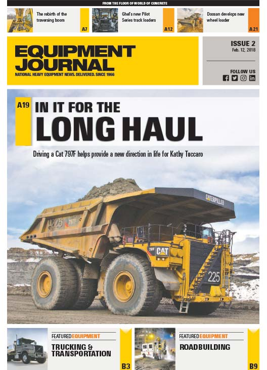 Equipment Journal - Issue 2, February 12, 2018