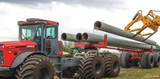 Ardco pipe trailer AMT