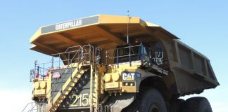 Caterpillar 797F alberta oil sands