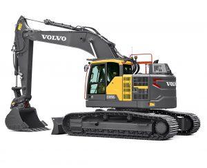 volvo e-series excavator