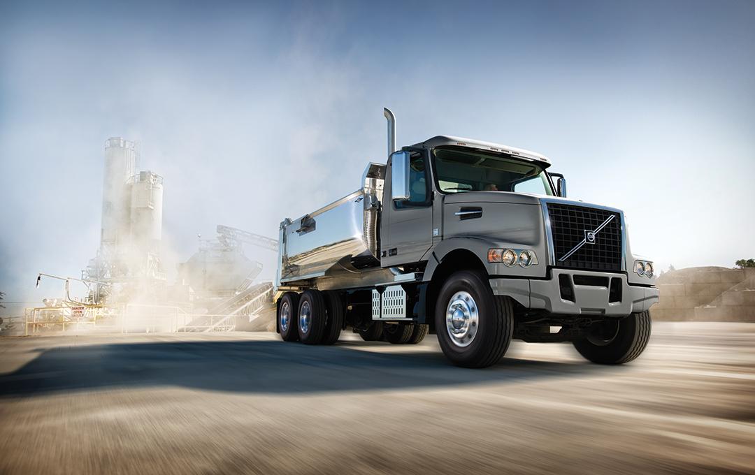 Volvo vocational truck