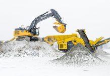 frontline machinery keestrack hybrid crusher