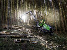 nortrax JOhn Deere intelligent boom control harvester