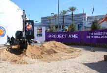 3d printing excavator heavy equipment