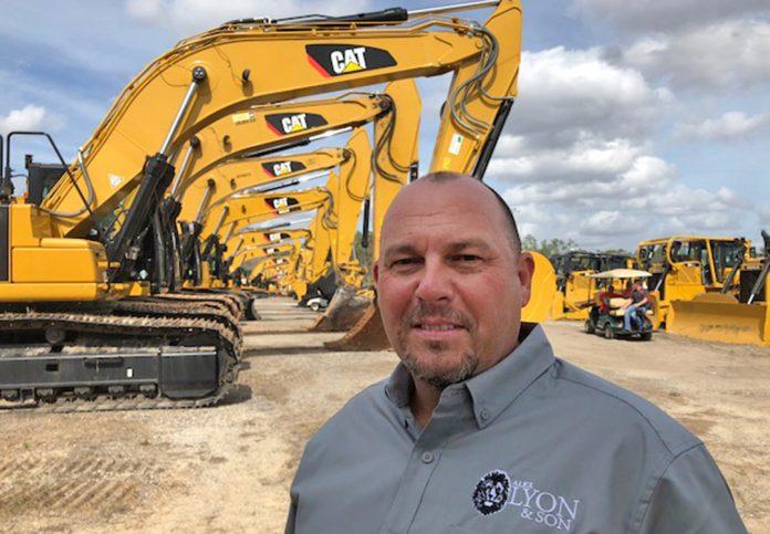 Alex Lyon & Son auction heavy equipment