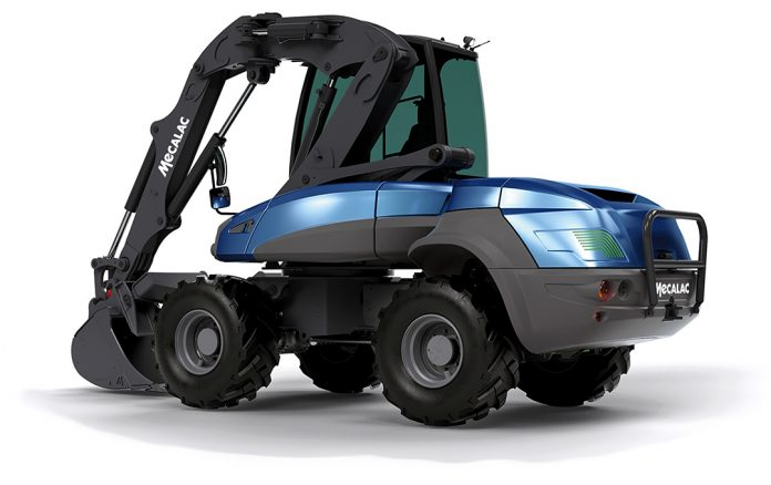 Mecalac INTERMAT excavator