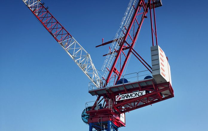 Raimondi LR330 lugging jib crane