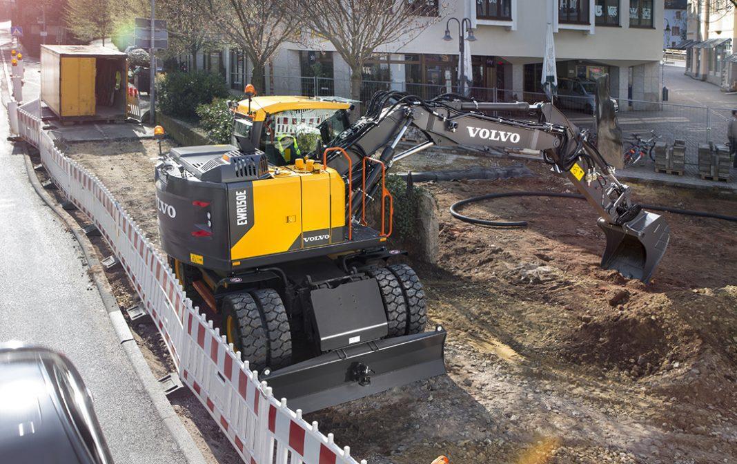 Volvo construction wheeled excavator