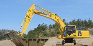 semi-automatic excavator komatsu hydraulic excavator