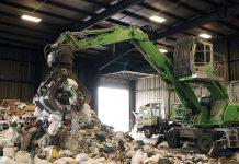 sennebogen solid waste material handler
