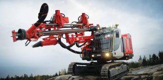 Expo Grands Travaux sandvik drill rig selix ESS