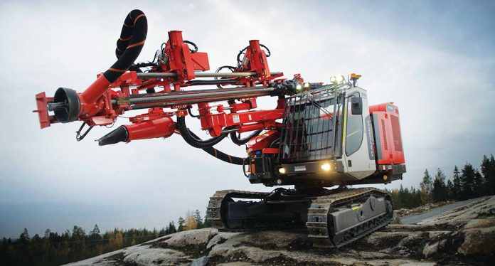Expo Grands Travaux sandvik drill rig selix ESS