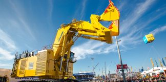 bauma germany trade show heavy equipment komatsu