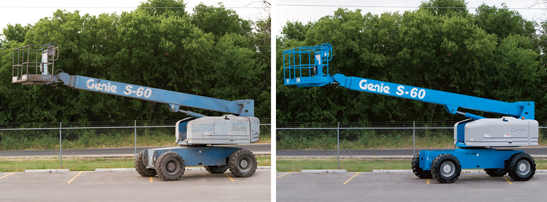 genie used equipment boom lift