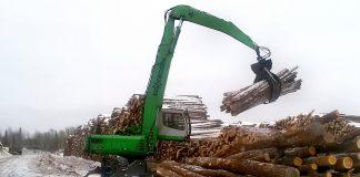 ontario sawmill sennebogen