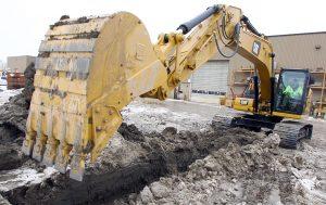 toromont cat excavator caterpillar
