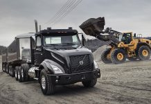 volvo VNX series haul truck