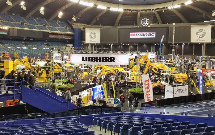 Expo Grands Travaux heavy equipment