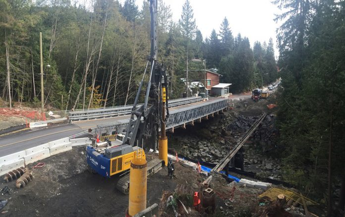 acrow bridge construction vancouver