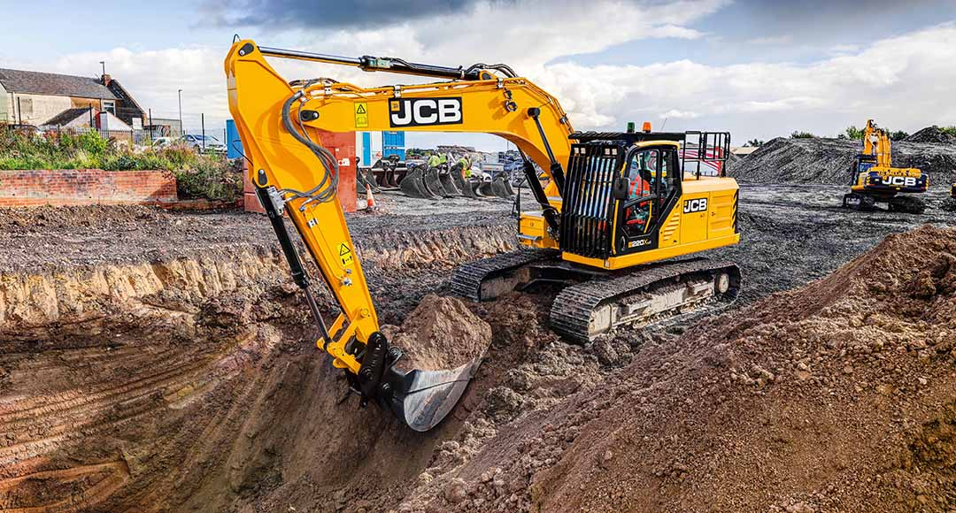 JCB X series excavators