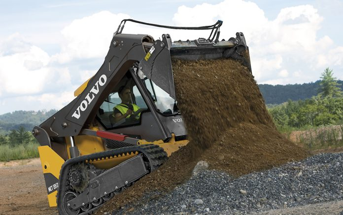 Volvo skid steer