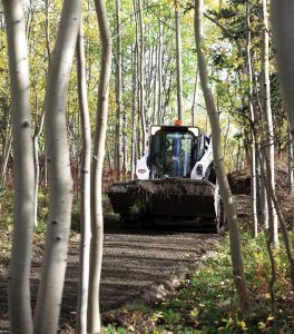 bobcat s570 bucket steel tracks tnt enterprises