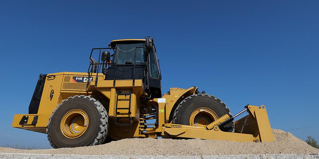 Cat unveils new 814K wheel dozer - Equipment Journal