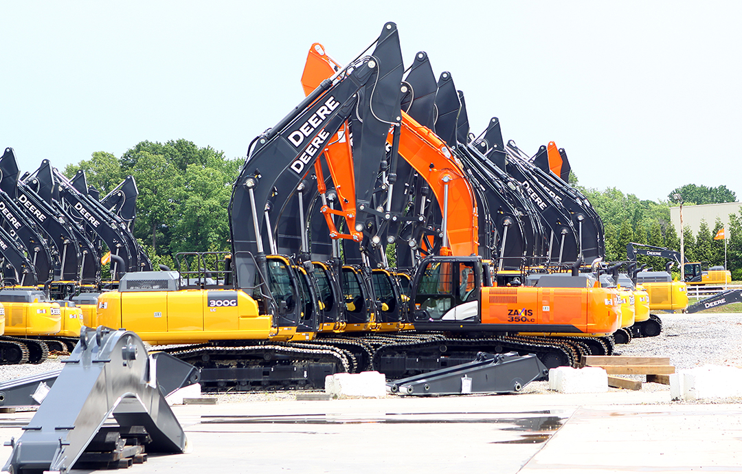 Here S How John Deere And Hitachi Partnered On Excavator Production