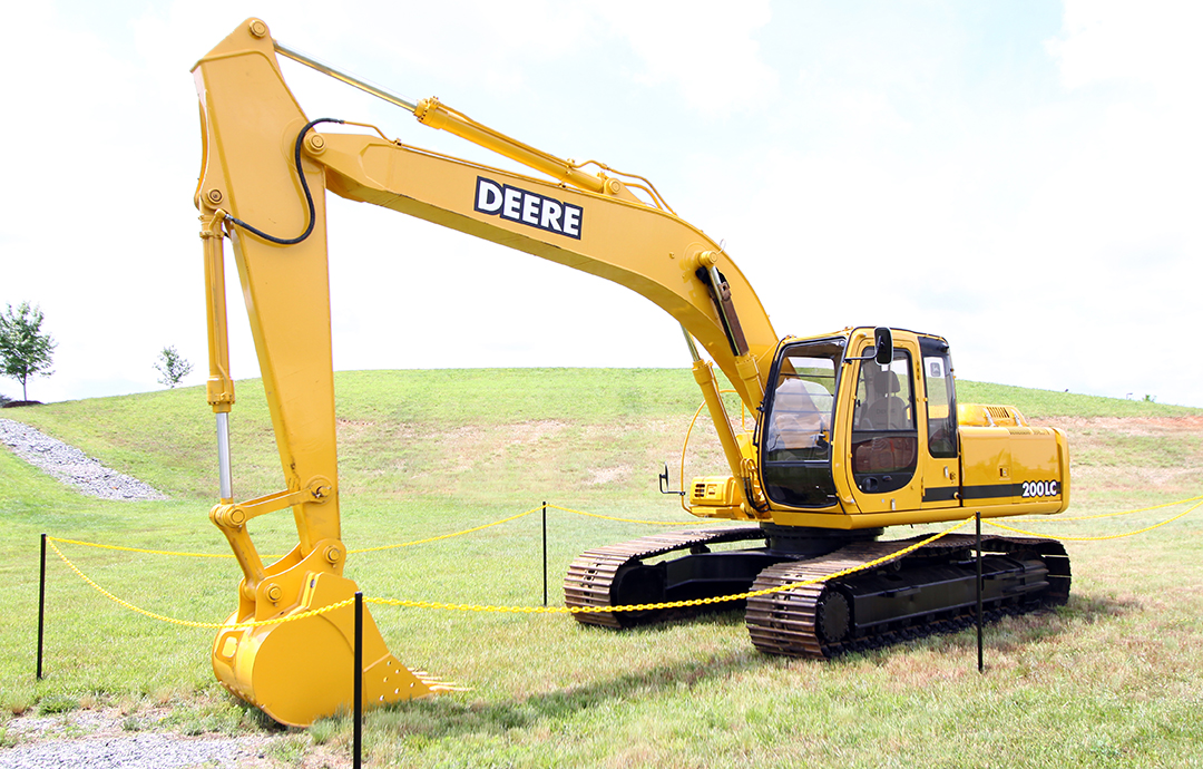 Here's how John Deere and Hitachi partnered on excavator