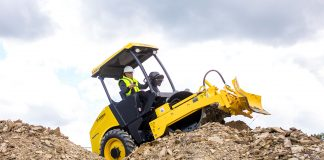 bomag vibratory roller