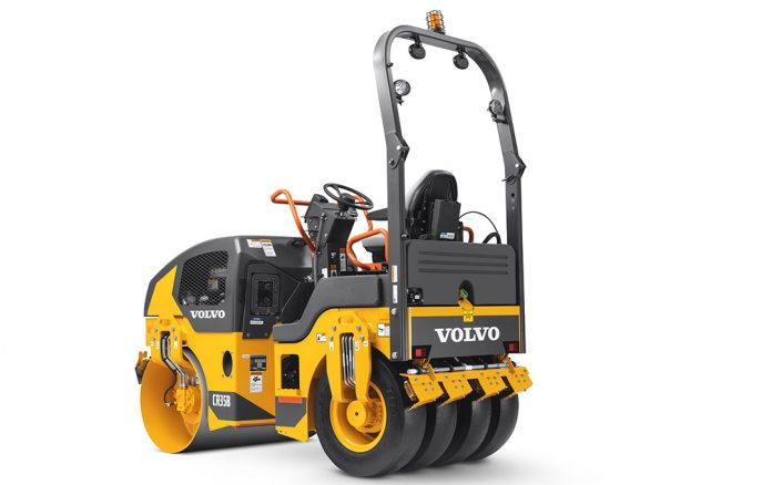 Volvo CE combination roller