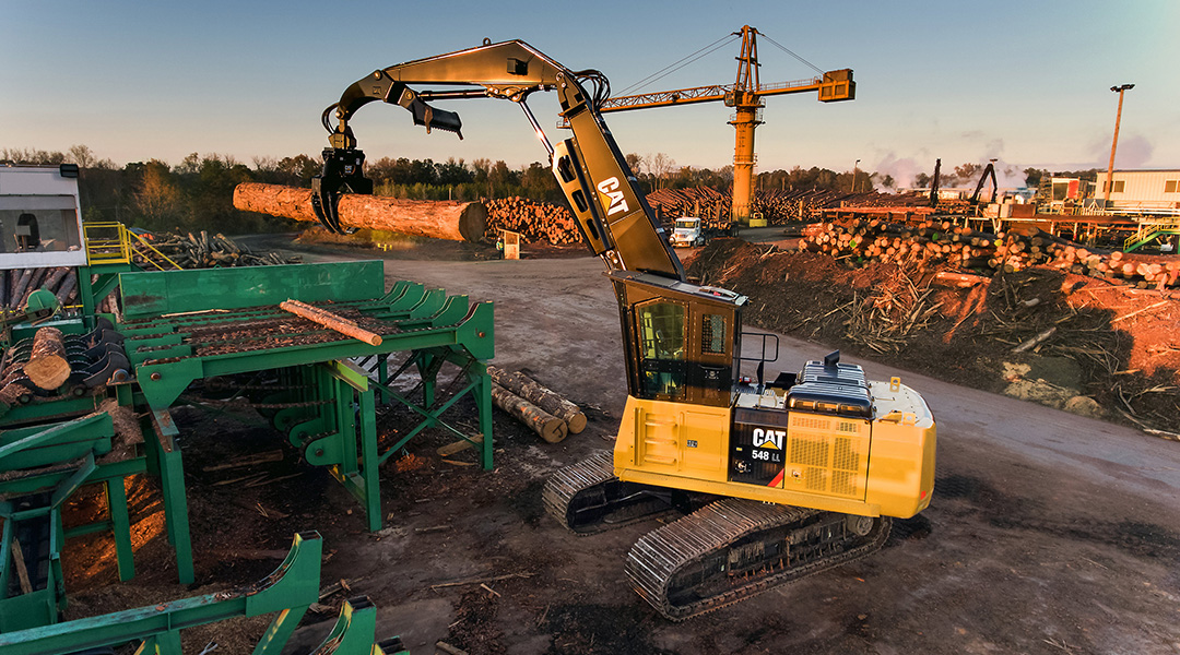 A boost to swing torque: Cat unveils two new forestry