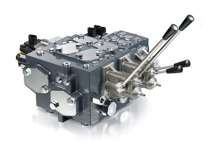 danfoss PVG 128/256 valve front